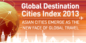 MasterCard Global Destination Cities Index 2013