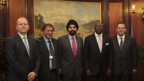 Flickr Photo: Ajay Banga, President and CEO Discusses Financial Inclusion with South African Government Officials