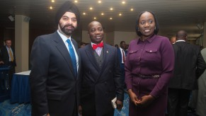 Flickr Photo: Ajay Banga, President and CEO, MasterCard poses with business leaders at the MasterCard Thought Leadership session, in Abuja