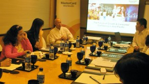 Flickr Photo: MasterCard Index of Resilience Media Briefing